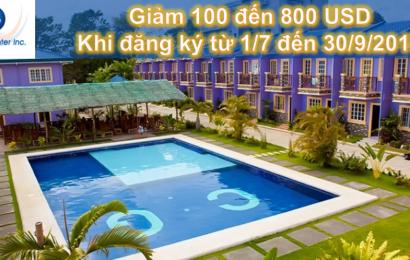 Trường CG: Tặng ưu đãi giảm 100 đến 800 USD cho học viên Việt Nam
