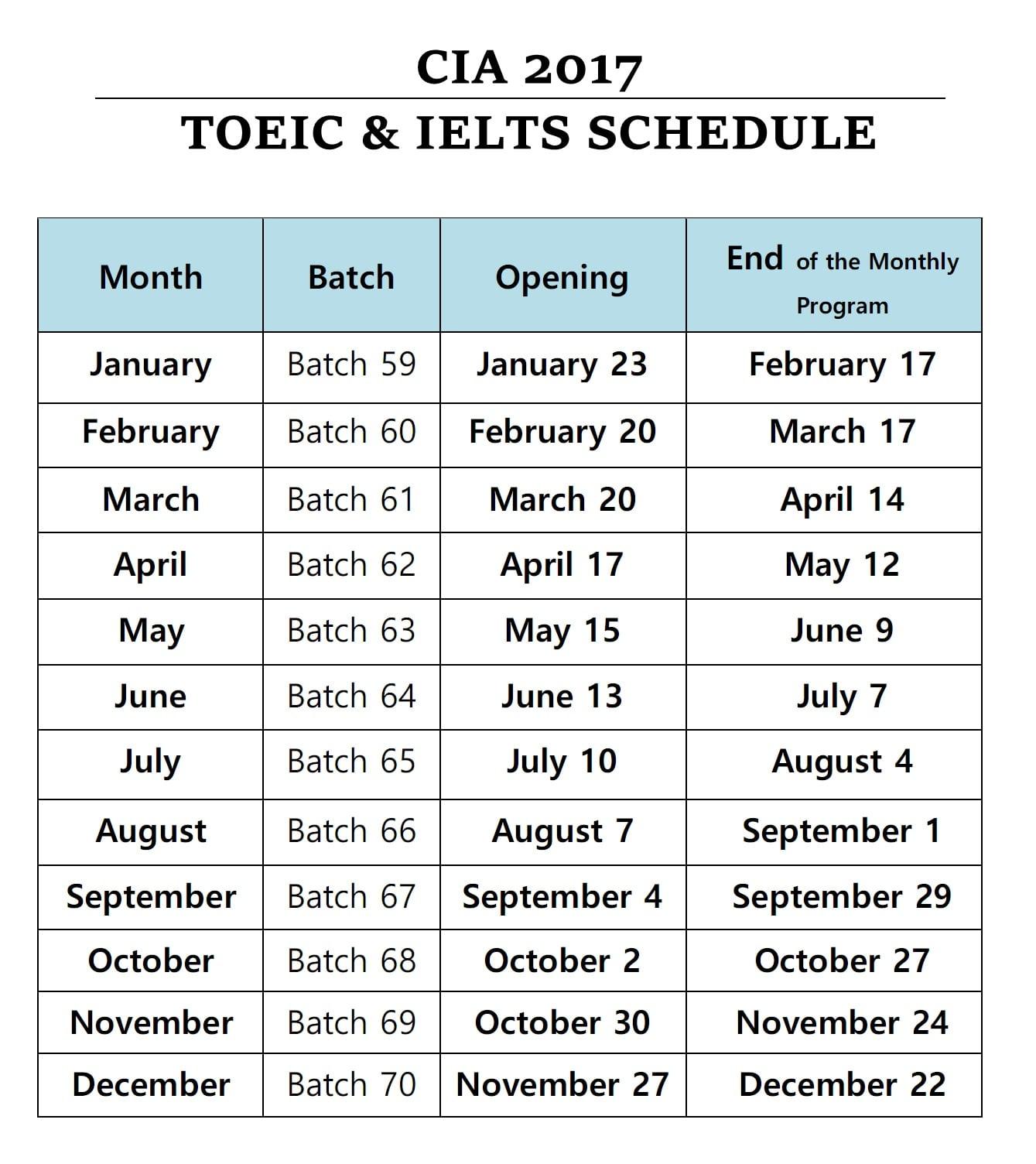 cia-2017-toeic-ielts-schedule