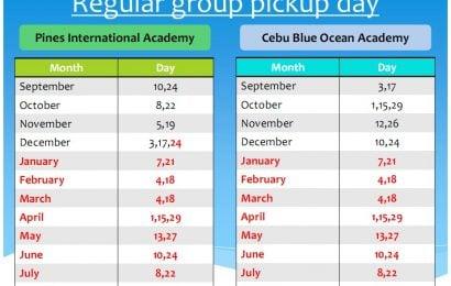 Pines và CBO: thay đổi lịch đón học viên từ 24/12
