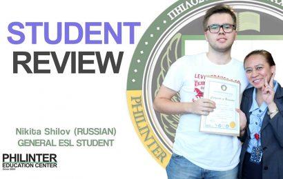 Nikita – Philinter: the best English school in the Philippines
