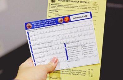 Lưu trú tại Philippines: nhập cảnh, visa, thẻ iCard, SSP và các vấn đề liên quan