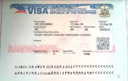 Xin visa du học tiếng Anh Philippines tại Việt Nam: tiết kiệm hơn, dễ dàng hơn