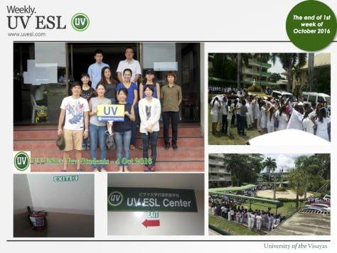Các hoạt động và lịch học tháng 10 của Trường UV ESL