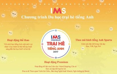 Trại hè tiếng Anh 2017 Philippines, Trường IMS – Cebu
