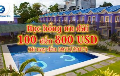 Trường CG: học bổng ưu đãi 100-800 USD cho đăng ký cuối năm 2017