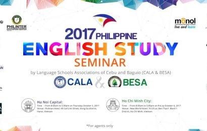 Hội thảo du học tiếng Anh tại Philippines dành cho đại diện tuyển sinh uy tín tại VN