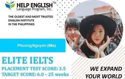 Phượng: HELP Martins là nơi tuyệt vời để học tiếng Anh
