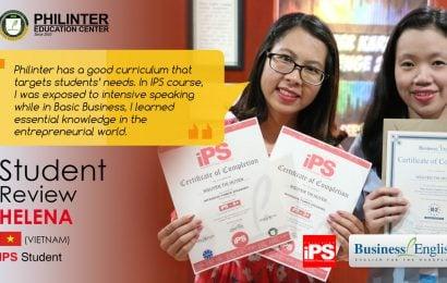 Huyền: Philinter với chương trình học tốt nhắm đúng nhu cầu của học viên