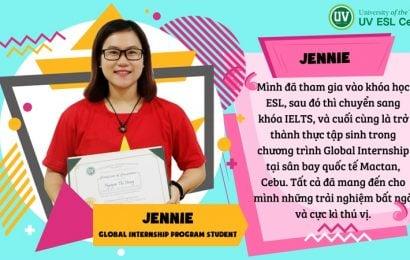 Jennie – UV: trải nghiệm thực tế của tôi, mọi thứ tại Cebu đều rất an bình