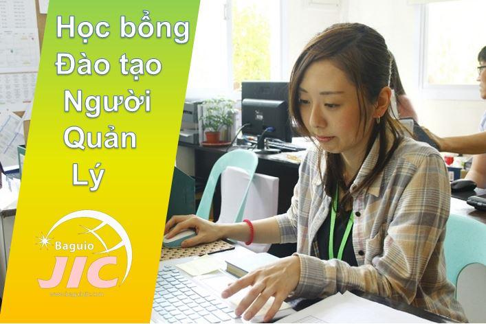 Học bổng Đào tạo Người quản lý từ Trường JIC Baguio