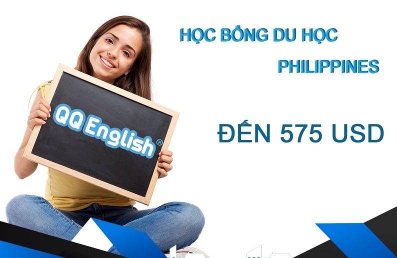 Trường QQ: Học bổng du học tiếng Anh Philippines đến 1.000 USD cho 3 tháng