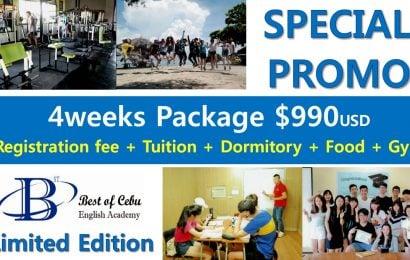Trường BOC: học bổng ưu đãi chỉ 990 USD/ trọn gói 4 tuần học tiếng Anh