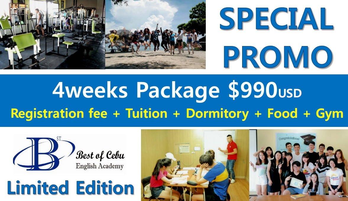 Trường BOC: học bổng khóa ESL chỉ 990 USD/ 4 tuần