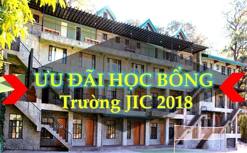 JIC hoc bong uu dai 2018