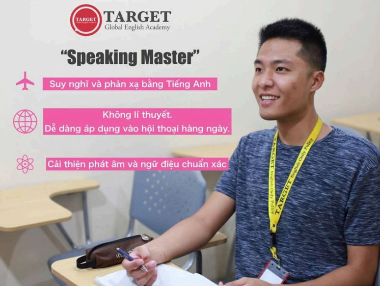 Speaking Master: Phương pháp học tiếng Anh tại Trường Target, Philippines