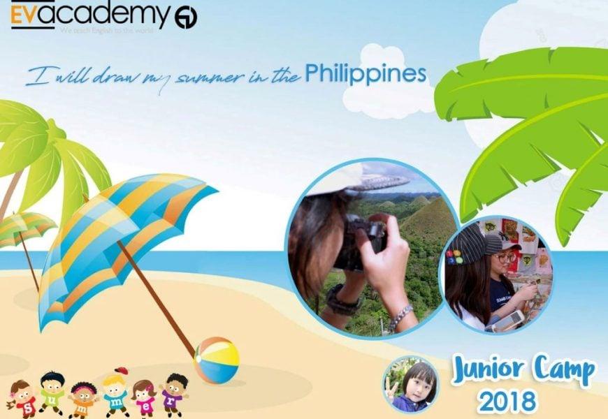 Trường EV: tiếng Anh hè 2018 Junior English cho bé từ 10-15 tuổi