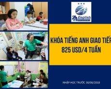 Trường ZA English: ưu đãi chỉ 825 USD/ 4 tuần mừng cơ sở mới ZA Mabolo