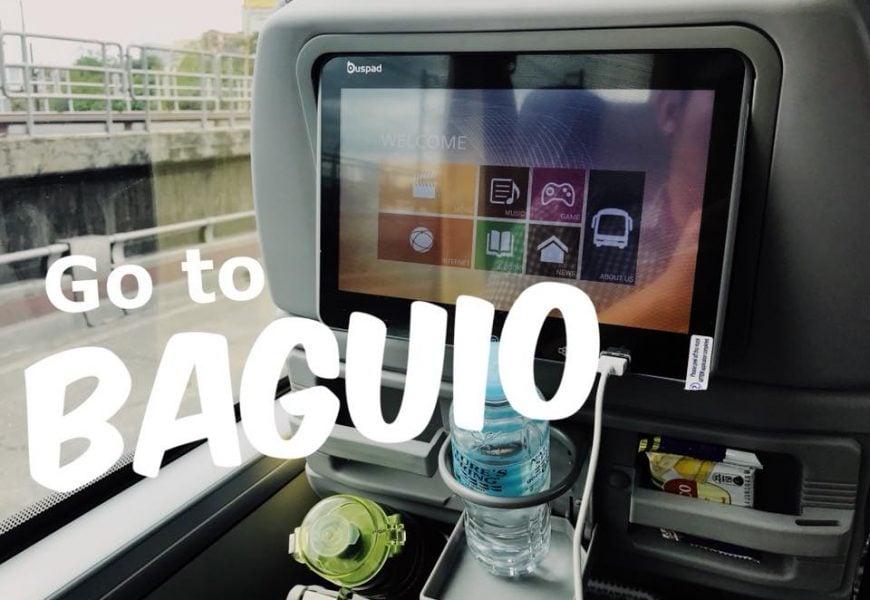 Bí kíp tận hưởng xe bus siêu sang từ Manila đến thành phố sương mù Baguio