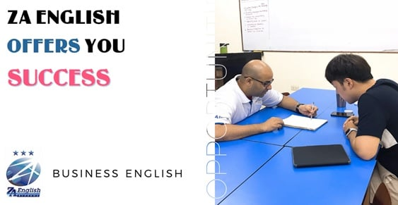 Khóa Business English với giáo viên bản ngữ tại trường ZA khác biệt ra sao?
