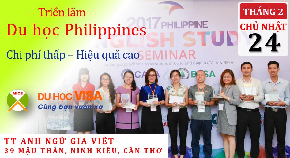 6ebacaf01f774 MICE tổ chức Triển lãm du học Philippines 2019 lần đầu tiên tại Cần ...
