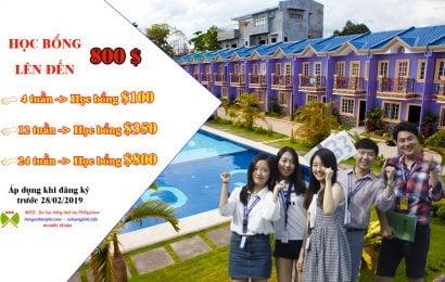 Trường CG – Học bổng ưu đãi lên đến 800$