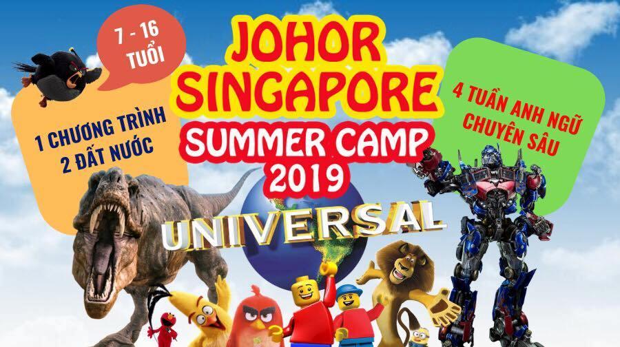 Trại hè Singapore Malaysia 2019