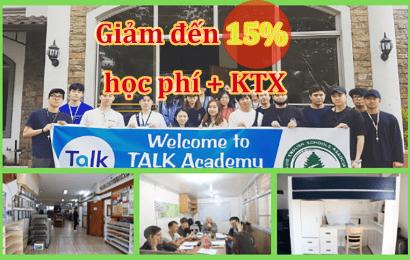 Trường Talk: Ưu đãi lên đến 15% học phí + Ký túc xá + Ưu đãi đặc biệt khóa IELTS đảm bảo điểm