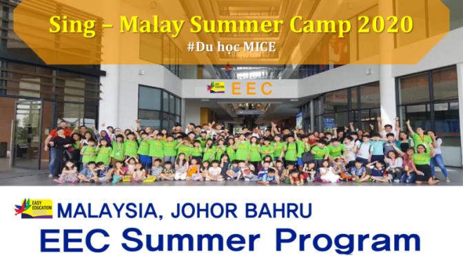 Trại hè ESL – IELTS English Summer Camp 2020 tại Singapore và Malaysia: Trường EEC