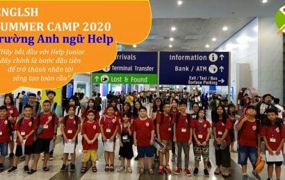 Trại hè du học tiếng Anh tại Philippines 2020- English Summer Camp – Trường Anh ngữ HELP Clark & Baguio