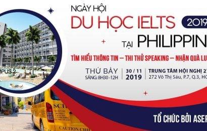 Ngày hội du học IELTS tại Philippines: Cơ hội đạt điểm IELTS cao trong 1 tháng hè 2020