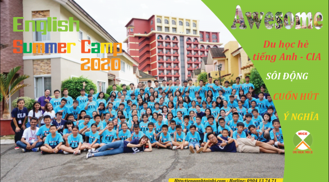 Trại hè English Summer Camp 2020 Trường Anh ngữ CIA – Philippines