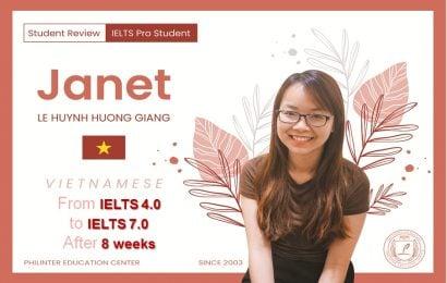 Giang: học IELTS trong 8 tuần, tăng điểm từ 4.0 lên IELTS 7.0