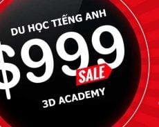 Khuyến mãi chi phí du học Philippines 2020 trường 3D Academy