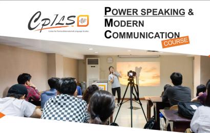 Khóa Power Speaking và học bổng 2020 từ trường Anh ngữ CPILS