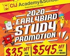 Khuyến mãi du học tiếng Anh Philippines đầu năm 2020 của CIJ Academy & School