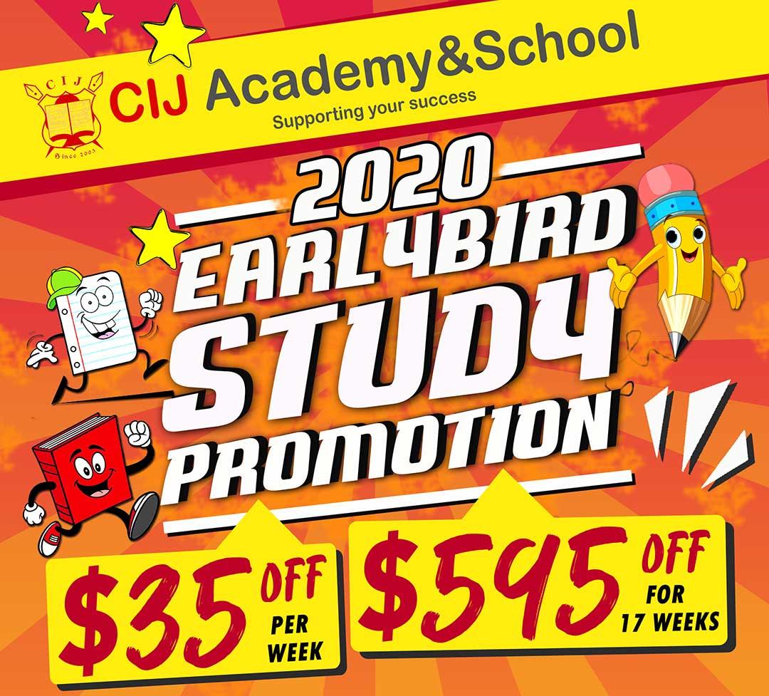 Khuyến mãi học phí du học Philippines 2020 trường CIJ Academy & School