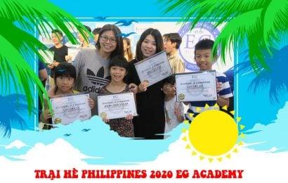Trại hè Philippines 2020 trường EG Academy
