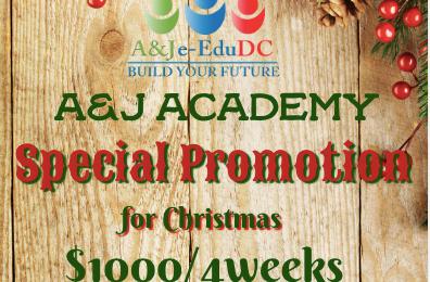 Khuyến mãi du học tiếng Anh Philippines 4 tuần chỉ $1000 từ A&J Academy