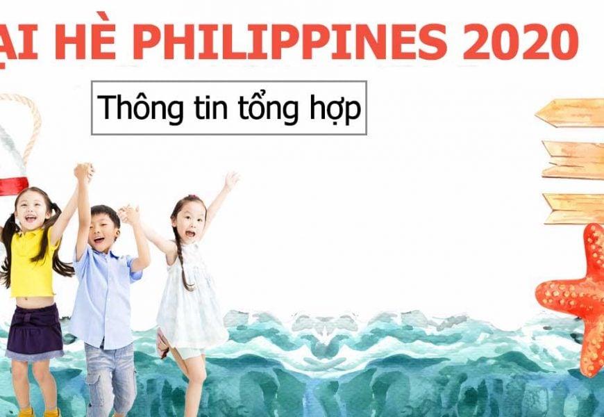 Trại hè Phillippines 2020 tổng hợp các trường