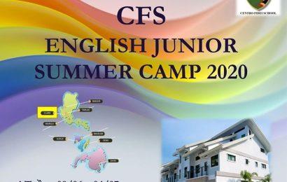 Trại hè tiếng Anh Philippines – Trường CFS Summer Camp 2020