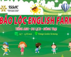 Trại hè Bảo Lộc English Farm 2020: Siêu phẩm trại hè tiếng Anh cho con