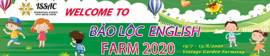 Trại hè Bảo Lộc English Farm 2020