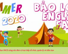 Trại hè Bảo Lộc English Farm 2020 1 đến 4 tuần: tiếng Anh, du lịch & nông trại